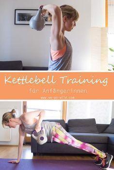 Kettlebell Übungen für Frauen. Kettlebell Übungen machen dich stärker und sind perfekt zum definiert...