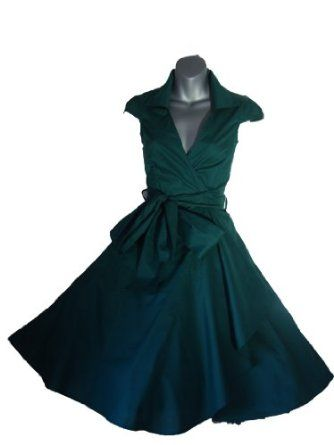 robe de soiree vintage rockabilly style retro ann es 50. Black Bedroom Furniture Sets. Home Design Ideas