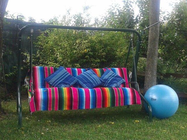 Angolo messicano in giardino