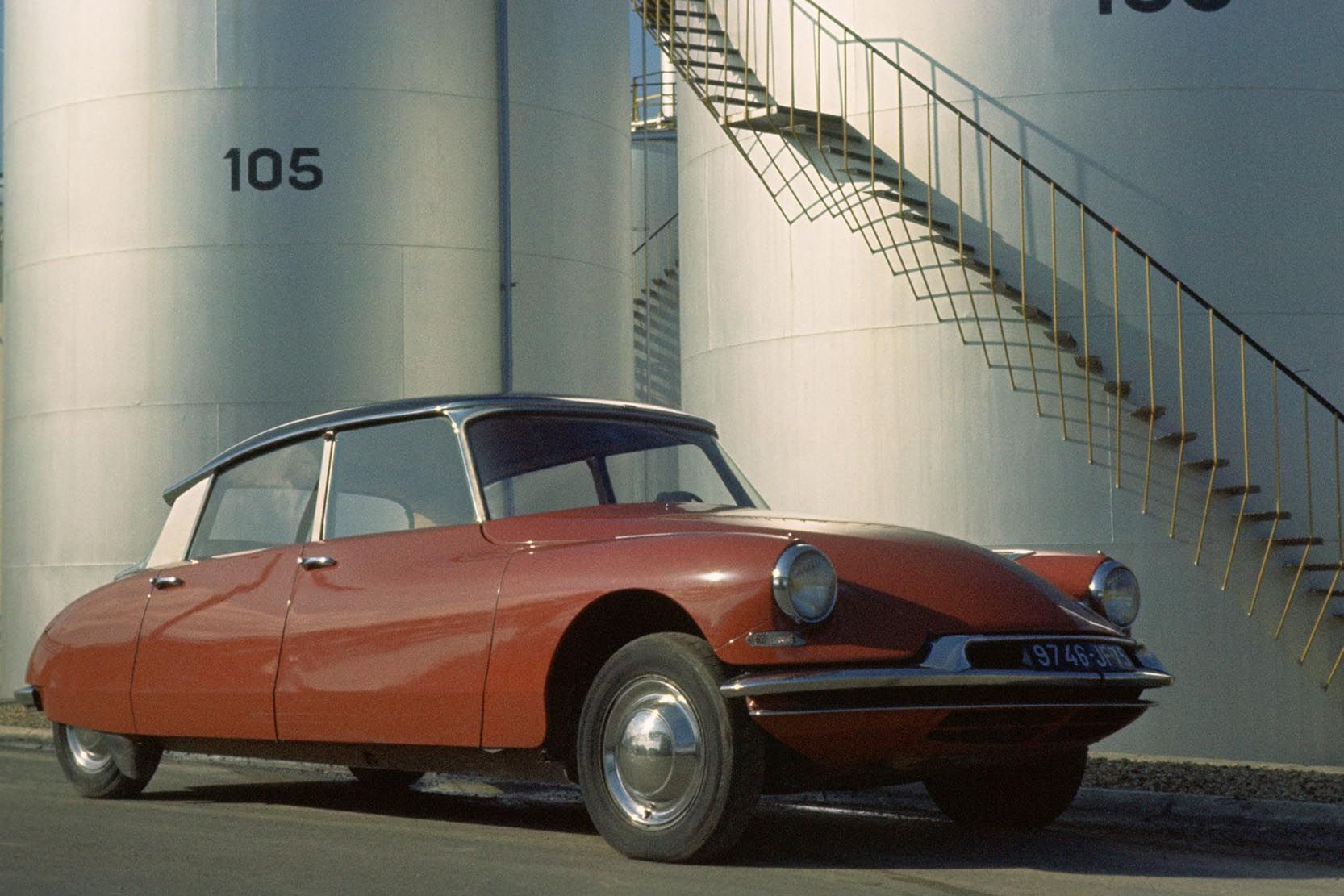 Citroen Ds 19 1955 French Cars Pinterest And