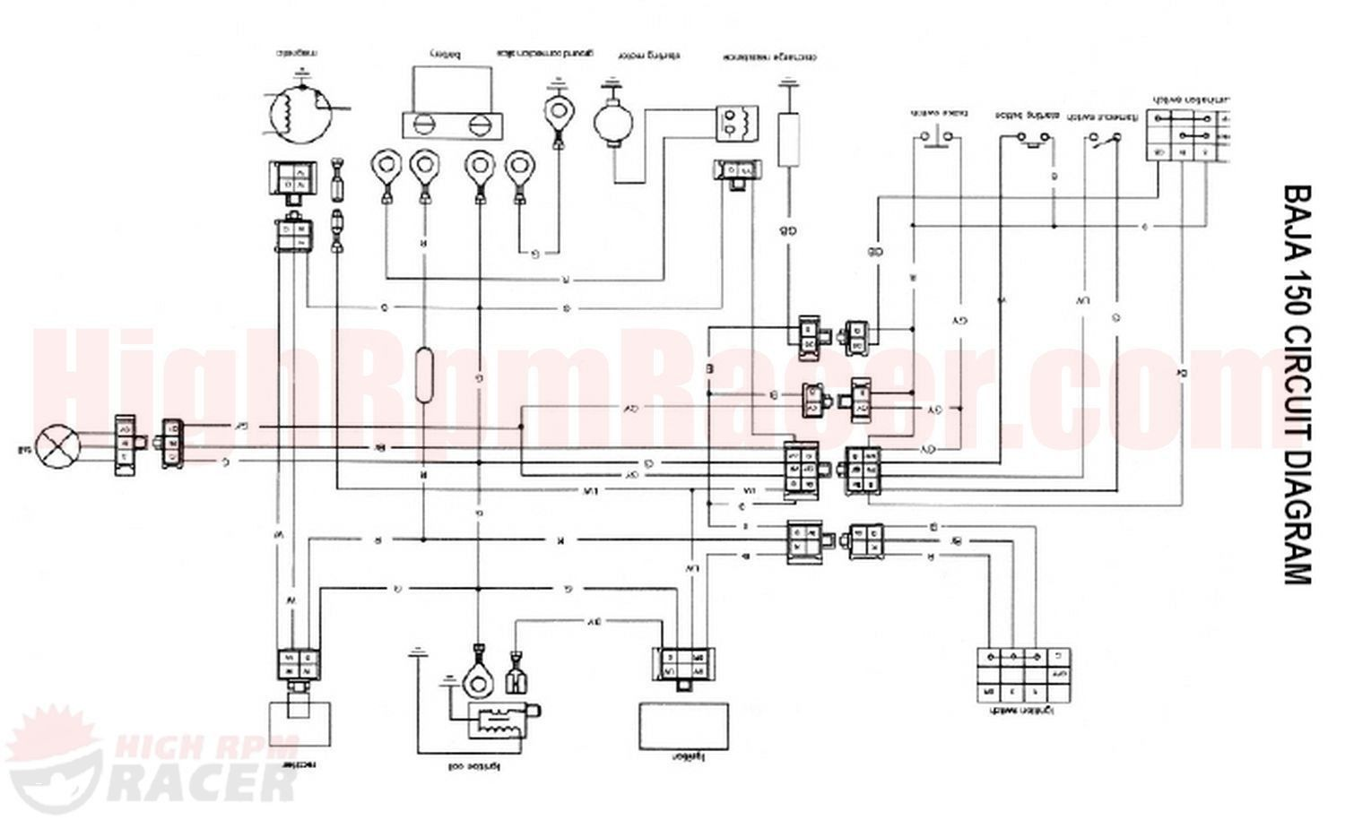 110 Atv Wiring Diagram | schematic and wiring diagram in ...
