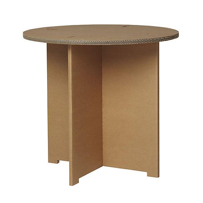 Karton Cardboard Furniture Table   Pinteres