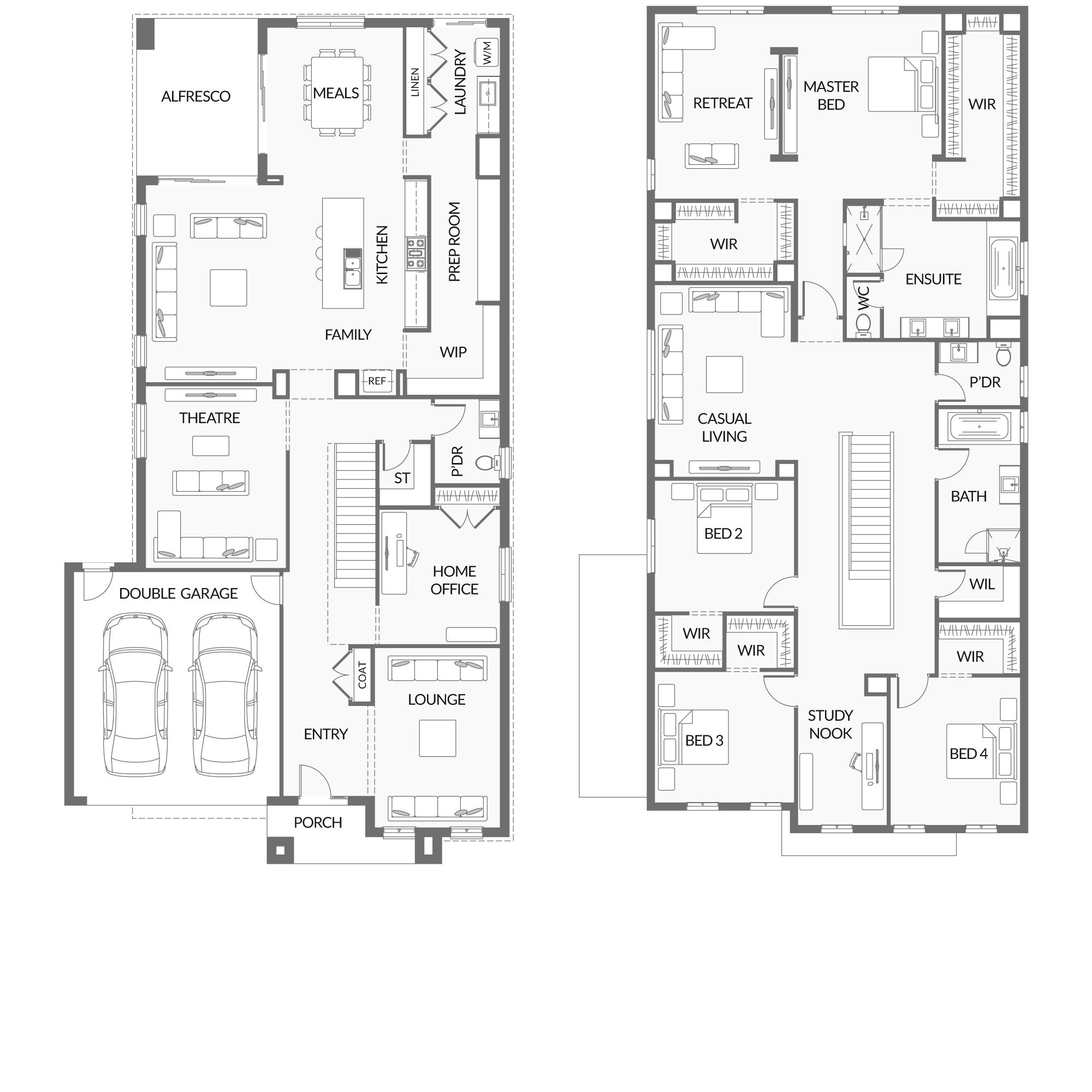 Pin by Rebecca Darke on Home designs House design