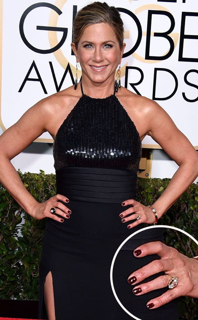 Jennifer Aniston from Best Manicures from the 2015 Golden Globes ...