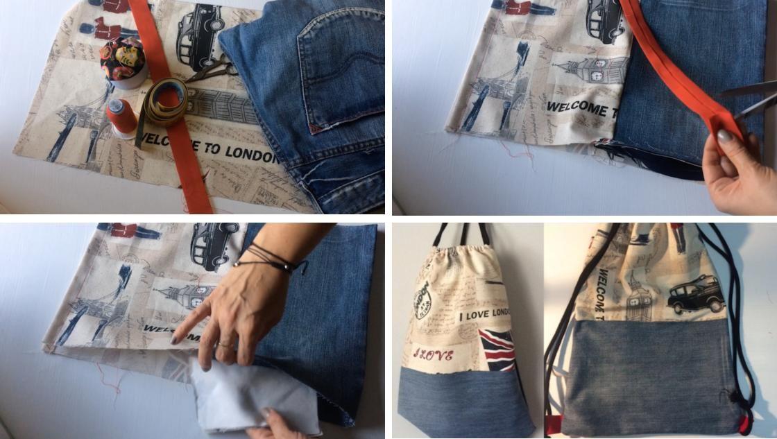 7dcf35d02 Para hacer turismo, para ir de excursión, para llevar al parque con los  niños... ¡Estas mochilas valen para todo! Y hoy vamos a aprender a coser  una.