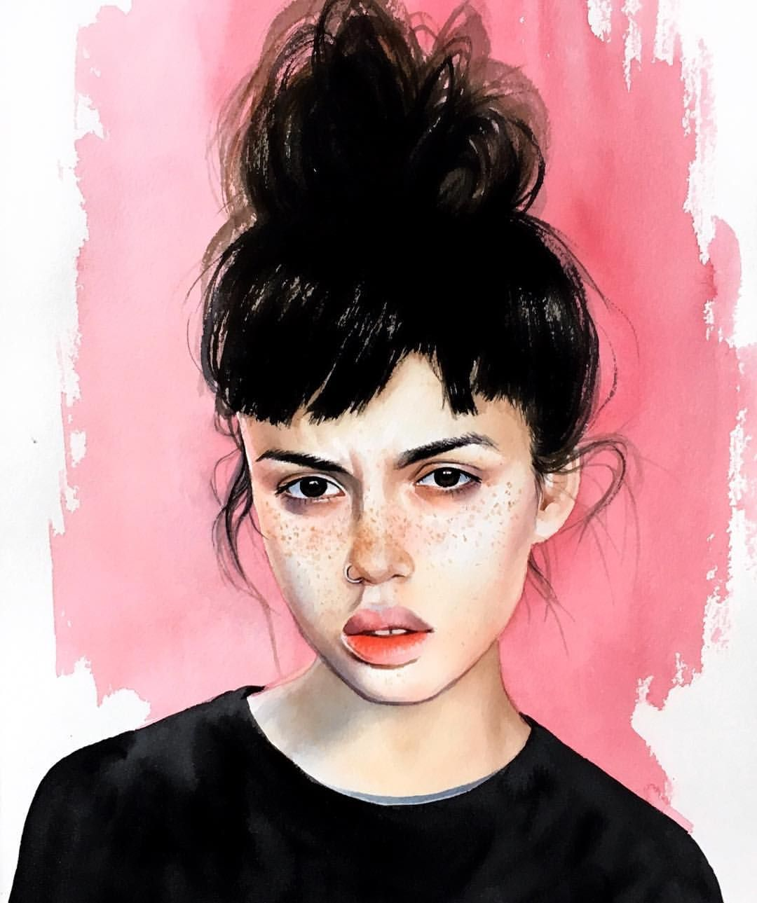 Elena Vinokurova Lenokvin V Instagram Portrait Girls