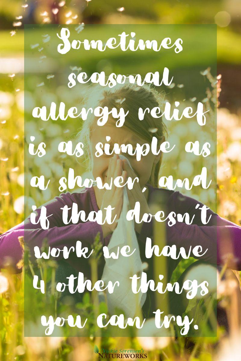 Natural Seasonal Allergy Relief in 2020 Seasonal allergy