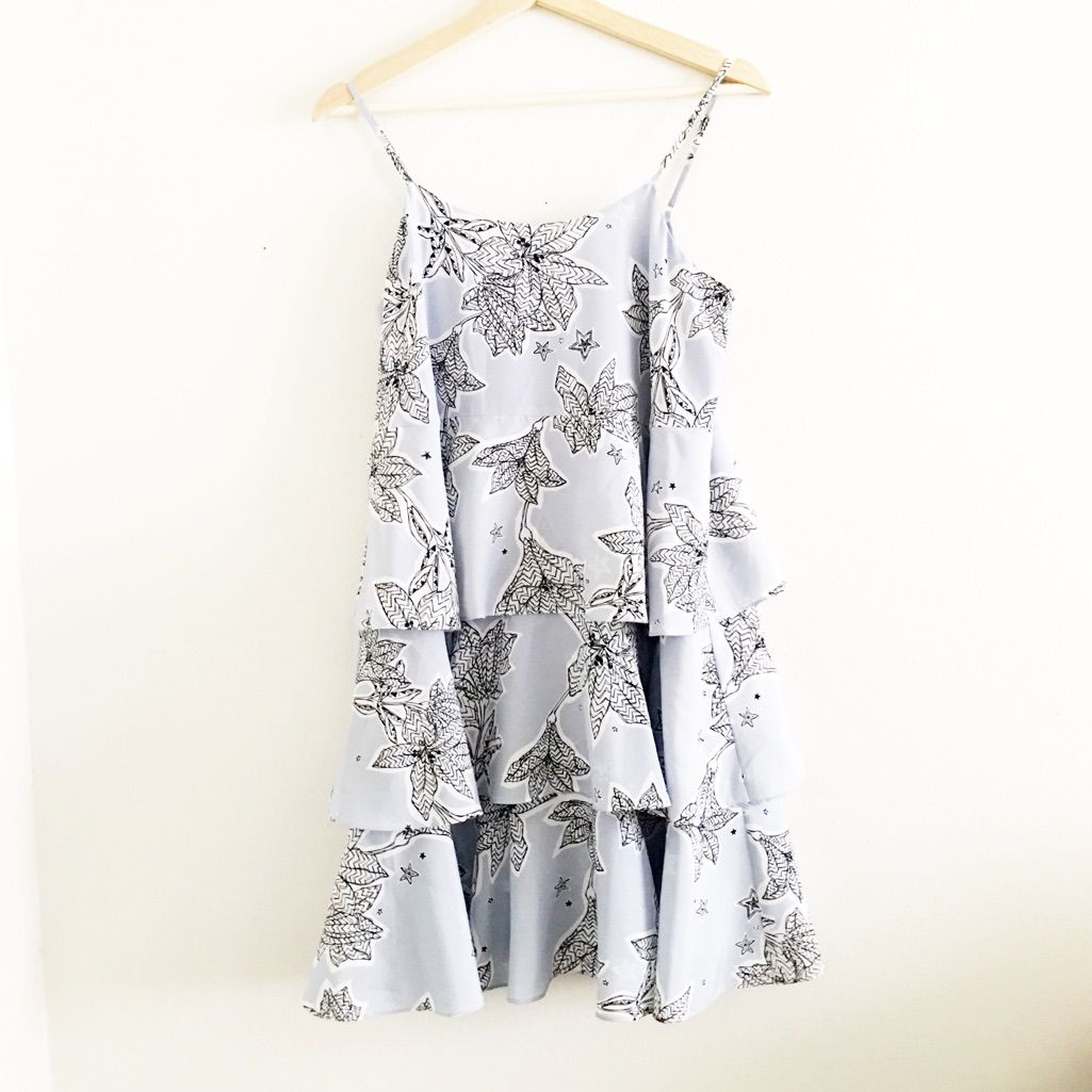 Cece ruffled dress products
