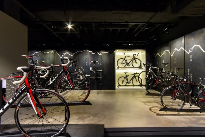 Engelhorn Sports Show Room By Blocher Blocher Partners Bicycle