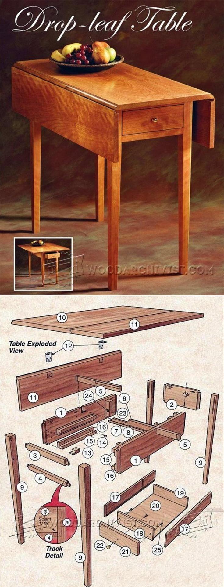 37+ Diy drop leaf craft table ideas in 2021