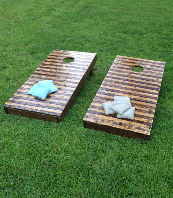 Wooden Corn Hole Boards Regulation Customized Corn Hole