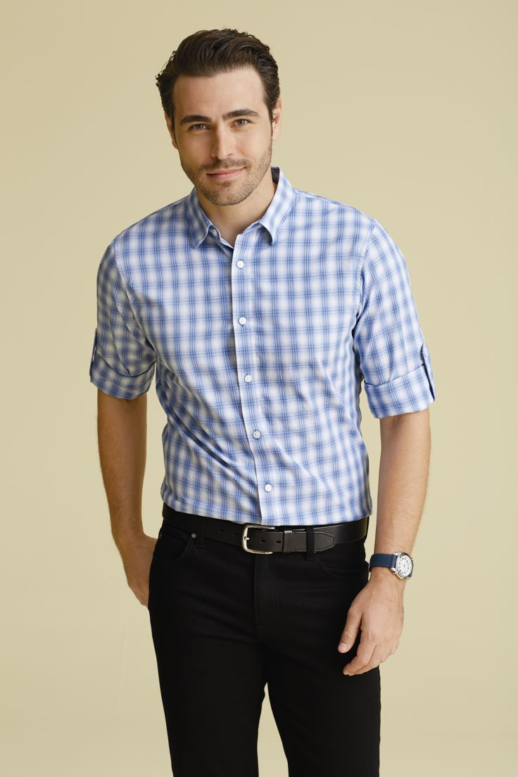 Our selection of casual dress shirts are sure to be a fall goto