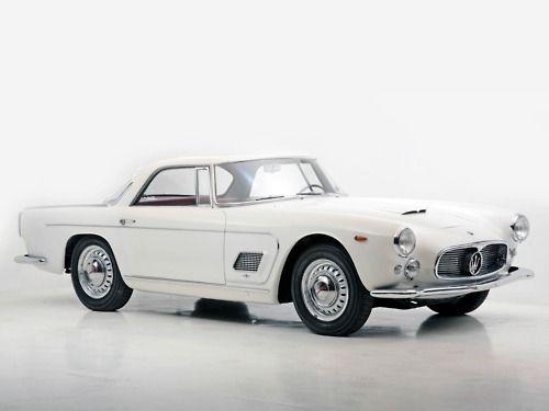 "1957 Maserati 3500 GT Prototipo ""White Dame"""