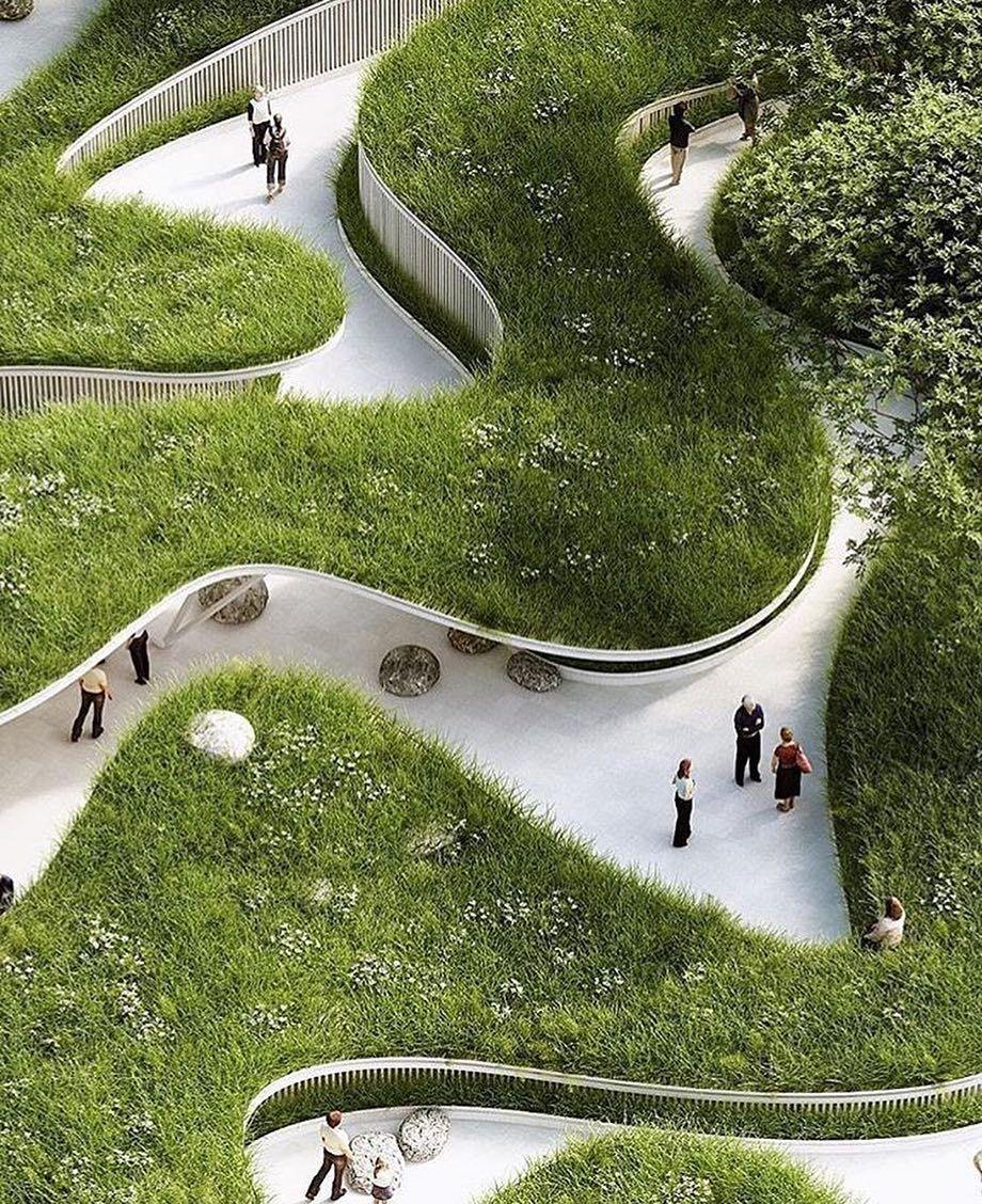 Swoopy Landscape Architecture Portfolio Landscape And Urbanism Architecture Landscape Architecture