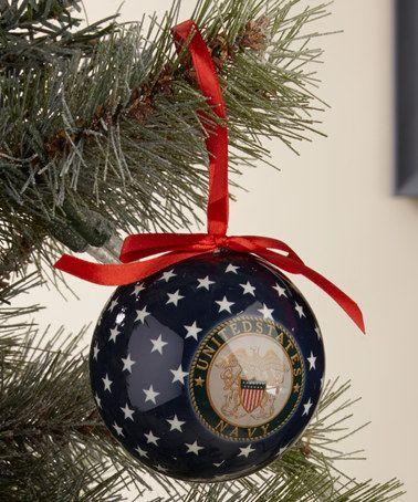 Military holiday stocking stuffer NEW US Navy Christmas ornament tree gift U.S
