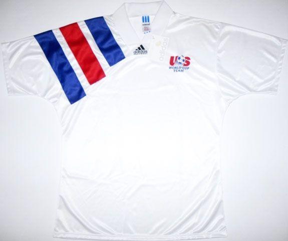 4ae7f4fd8 USA Jersey - 1992 through 1994 | National Soccer Jerseys | Football ...