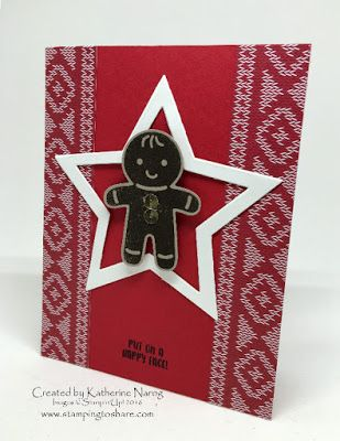 September Stamping to Share Demo Swap - Holiday  Favorites - Created by Katherine Narog, Stampin' Up! Cookie Cutter Christmas Bundle, #stampingtoshare