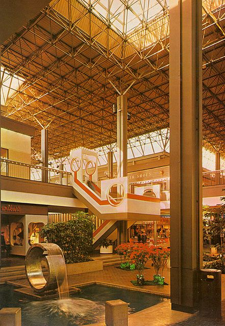 Mall At Columbia 1972 With Images Vintage Mall Retro Interior Design Abandoned Malls