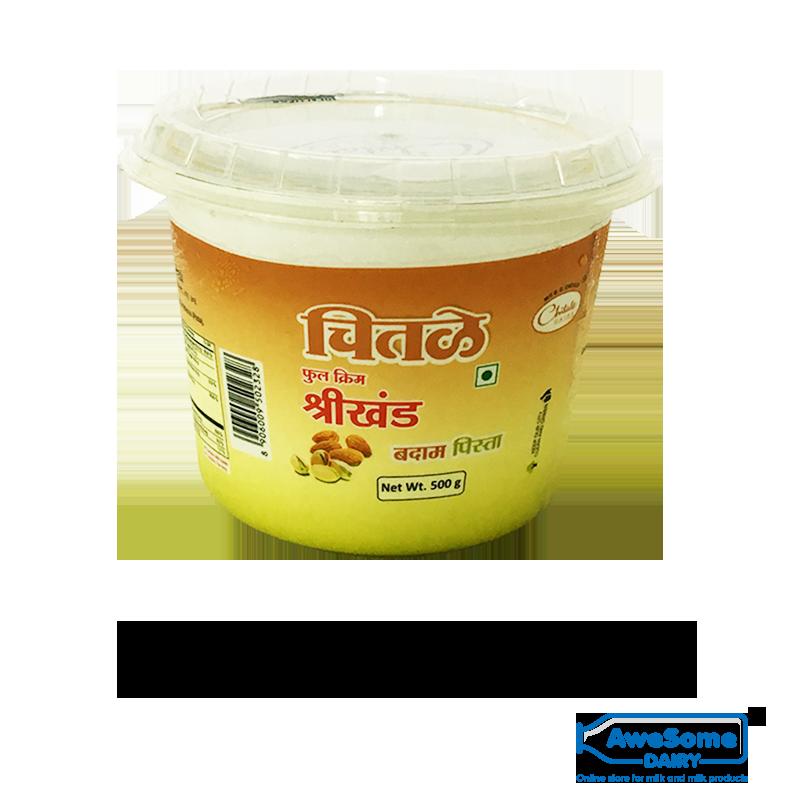 Buy Chitale Shrikand Badam Pista 500g Online Best Price