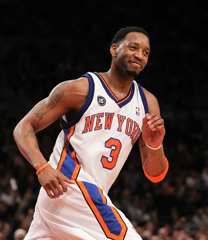 sports shoes 4ec73 f8c6d Tracy McGrady during his short tenure with the Knicks. | NBA ...