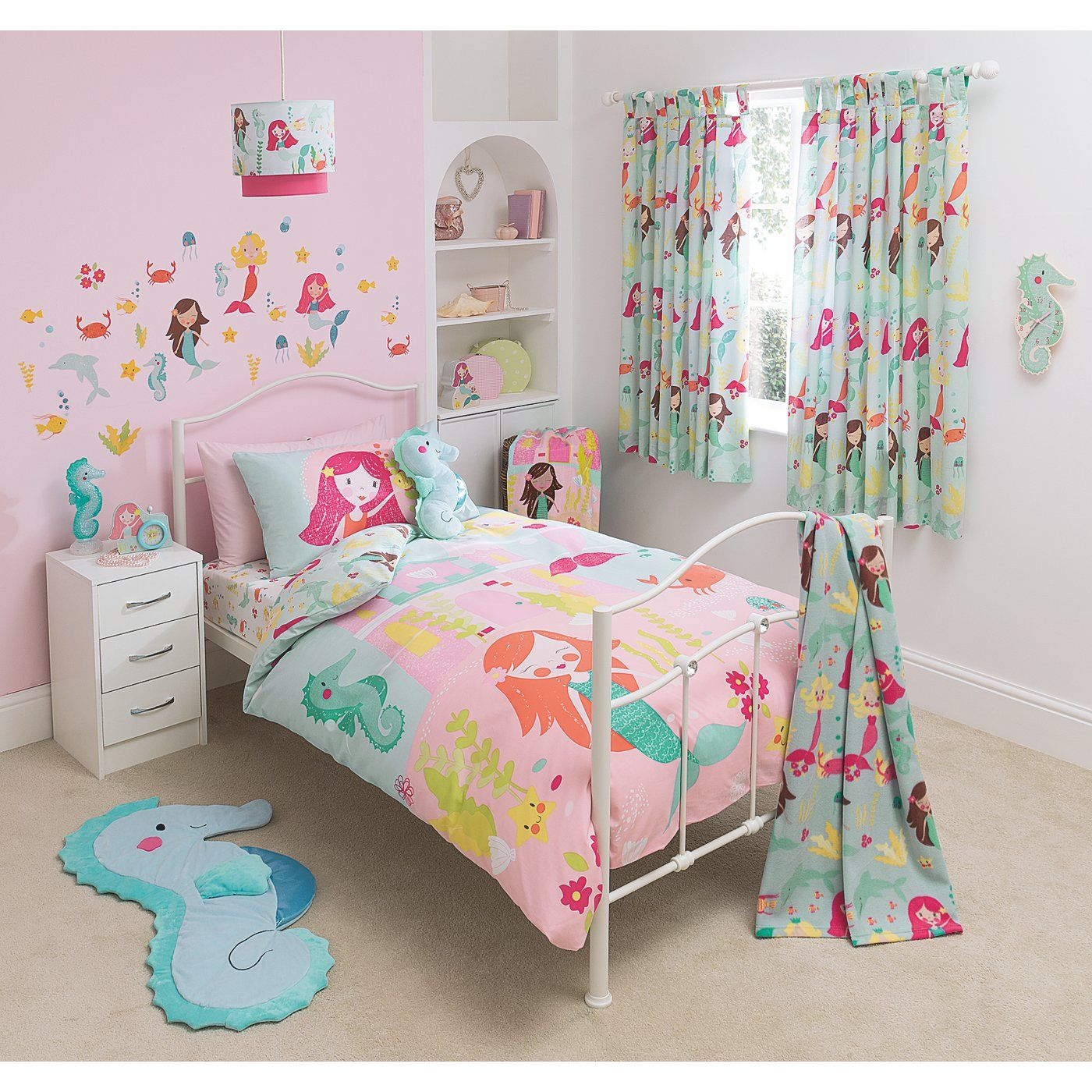 Buy George Home Mermaid Bedroom Set from our Bedding range today ...