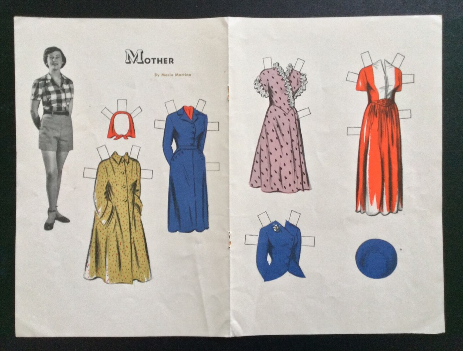 1949, Harvey's Mother, Harvey's Series Paper Doll, Jack An