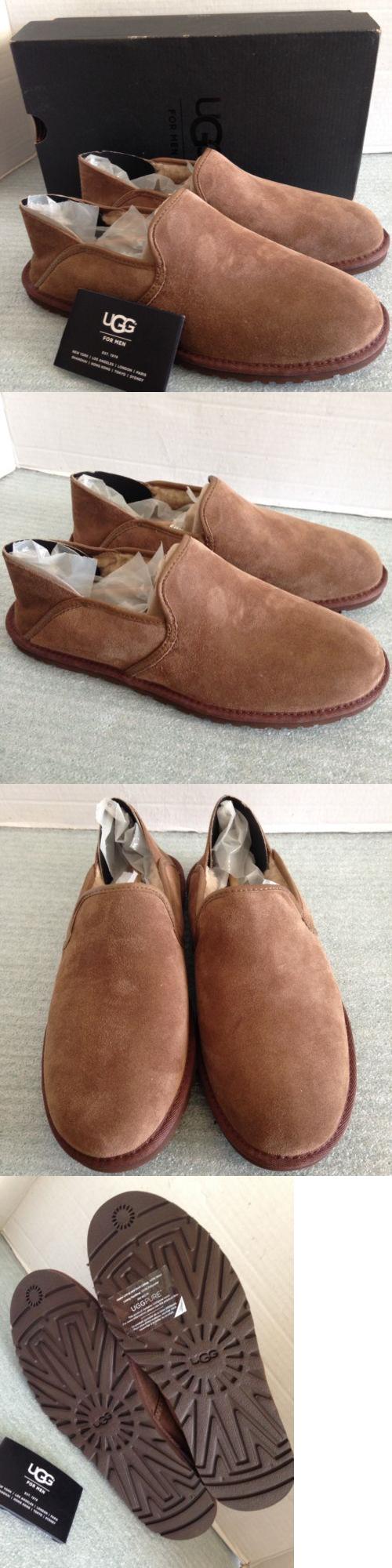 b2015af1b78 Slippers 11505: New Ugg Cooke Loafer Men Slippers 1013485-Dkc Dark ...