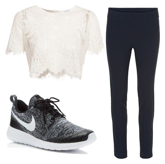 """Untitled #64"" by alicexxlove ❤ liked on Polyvore featuring Glamorous, NIKE and Betty Barclay"