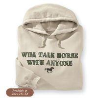 Will Talk Hoodie