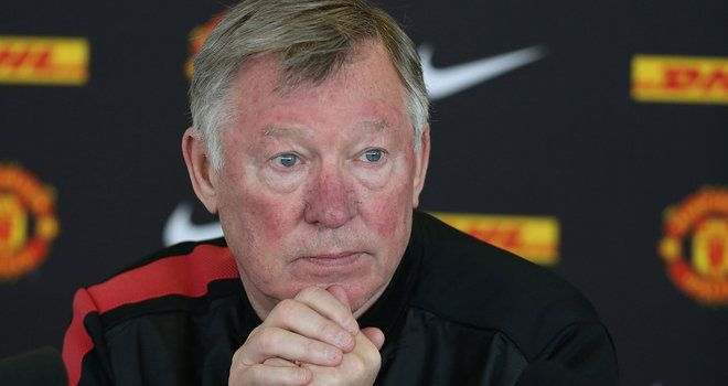 Sir Alex Ferguson insists the time is right to end his ...