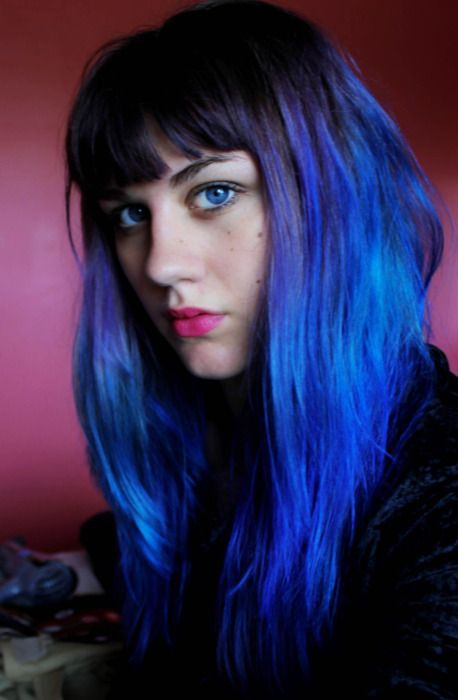 I Want My Hair This Color Its Like Being Ramona Flowers Dyed