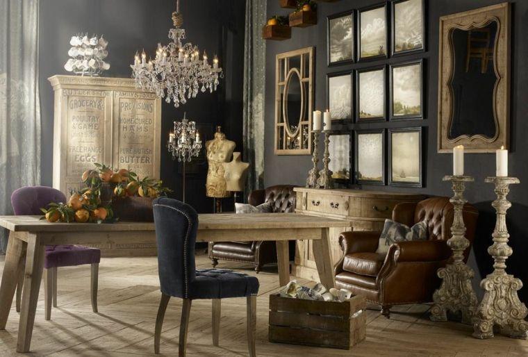 ideas de decoracion vintage para salón Decoración Pinterest - estilo vintage decoracion