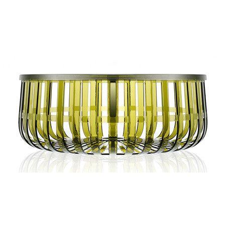 Photo of Buy Kartell Table Basket – Dark Green | Amara