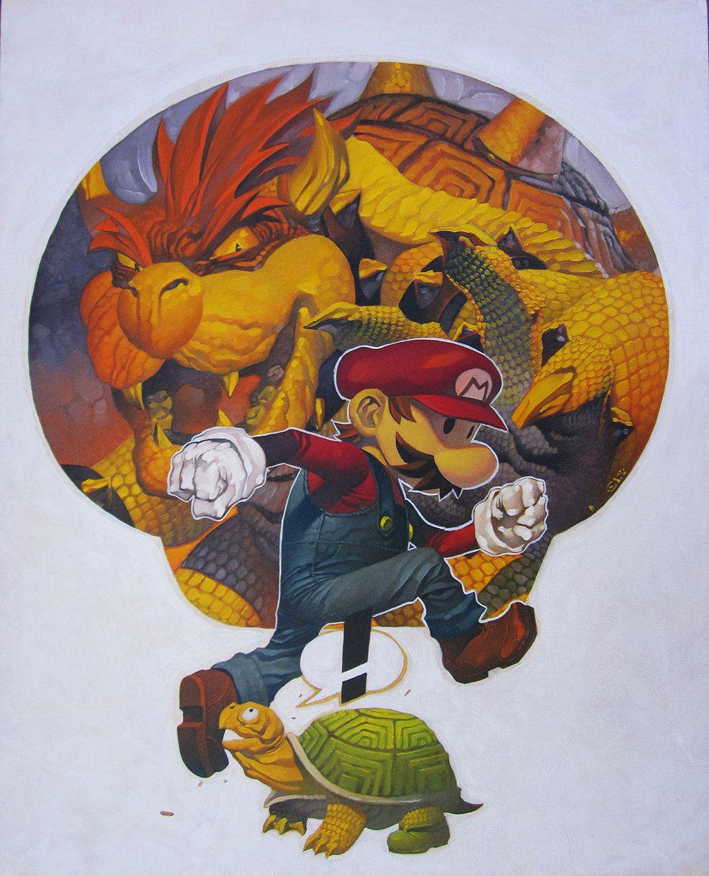 Super Mario by ChristopherStevens on DeviantArt