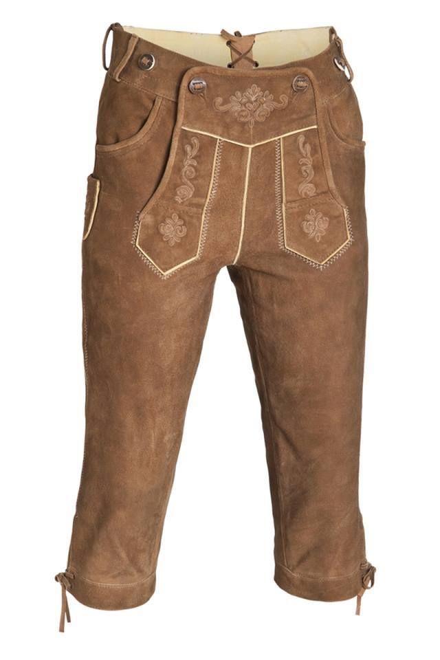 Deutsch Lederhosen. 100% Kuhfellleder weich und angenehm zu tragen. Preis nach Menge. Besuchen Sie bitte unsere Webseite: WWW.ROMANTRACHT.COM
