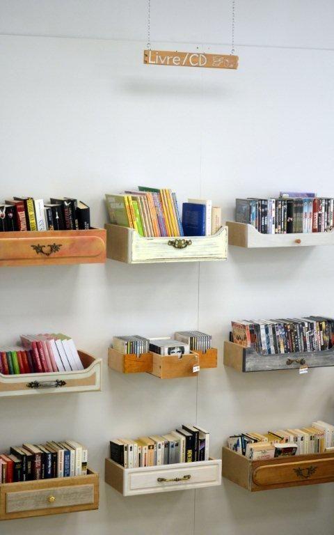 Des étagères dans les tiroirs! – #fr # étagères #dessins #Racks #Drives #Dessins …