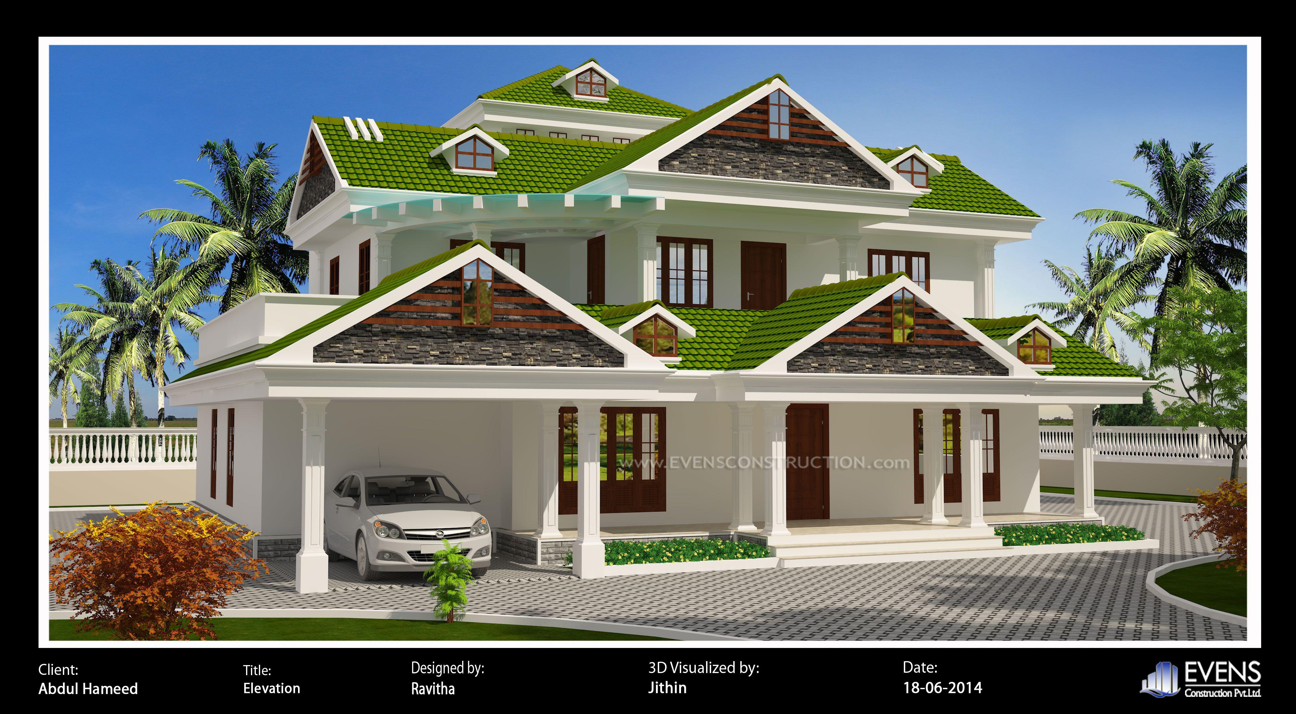 Pin By Nagaraj Kolkere On Ideas For The House Beautiful House Plans House Balcony Design Kerala House Design
