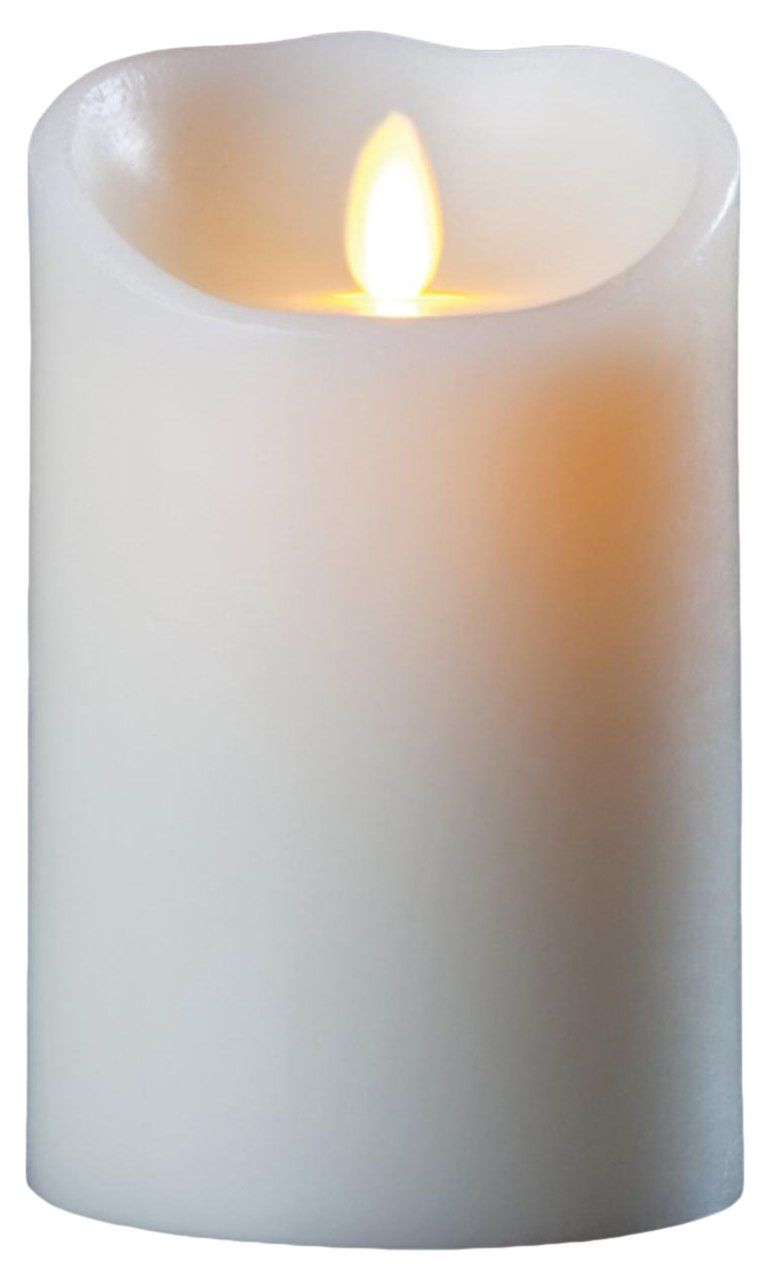 Luminara Flameless Candle: Vanilla Scented Moving Flame Candle with ...