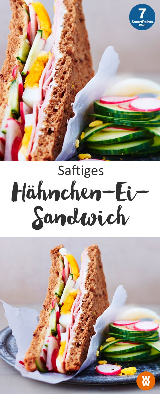 Photo of Saftiges Hähnchen-Ei-Sandwich
