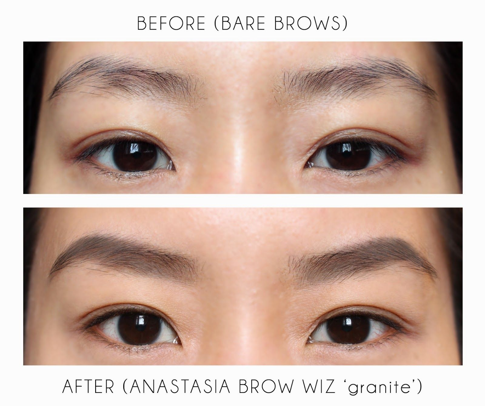 Anastasia Brow Wiz Eyebrow Pencil in 'granite' is a great match ...