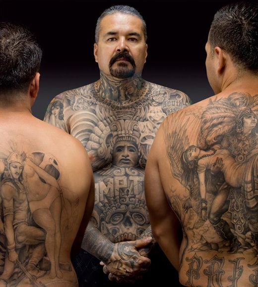 David Oropeza and two of his sons by Eric Schwartz