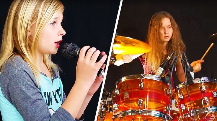 11 Year Old Showcases Jaw Dropping Vocal Range In Chilling Cover