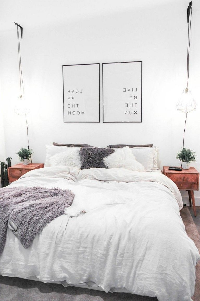 84 Beautiful First Apartment Decorating Ideas For Couples Apartment Apartmentdecor Apartmentl Apartment Bedroom Design Apartment Bedroom Decor Home Bedroom