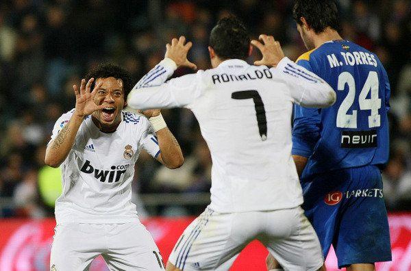 "Marcelo ""No me peleé con Cristiano"" Ronaldo, Cristiano"