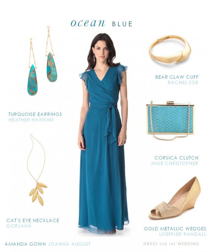 Long Blue Dress | Gowns, Wedding and Weddings