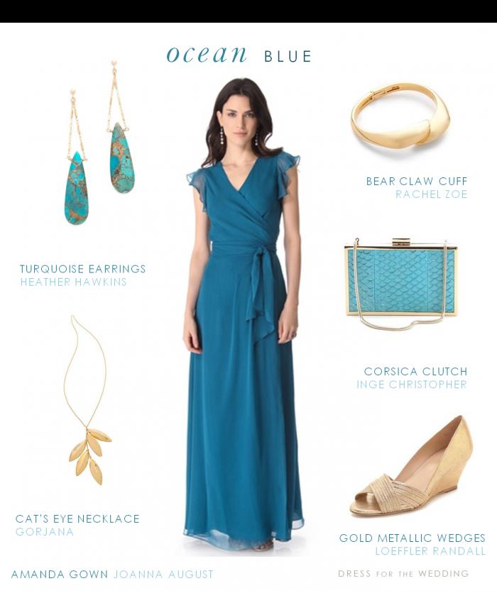 Long Blue Dress | Gowns, Wedding and Beach weddings