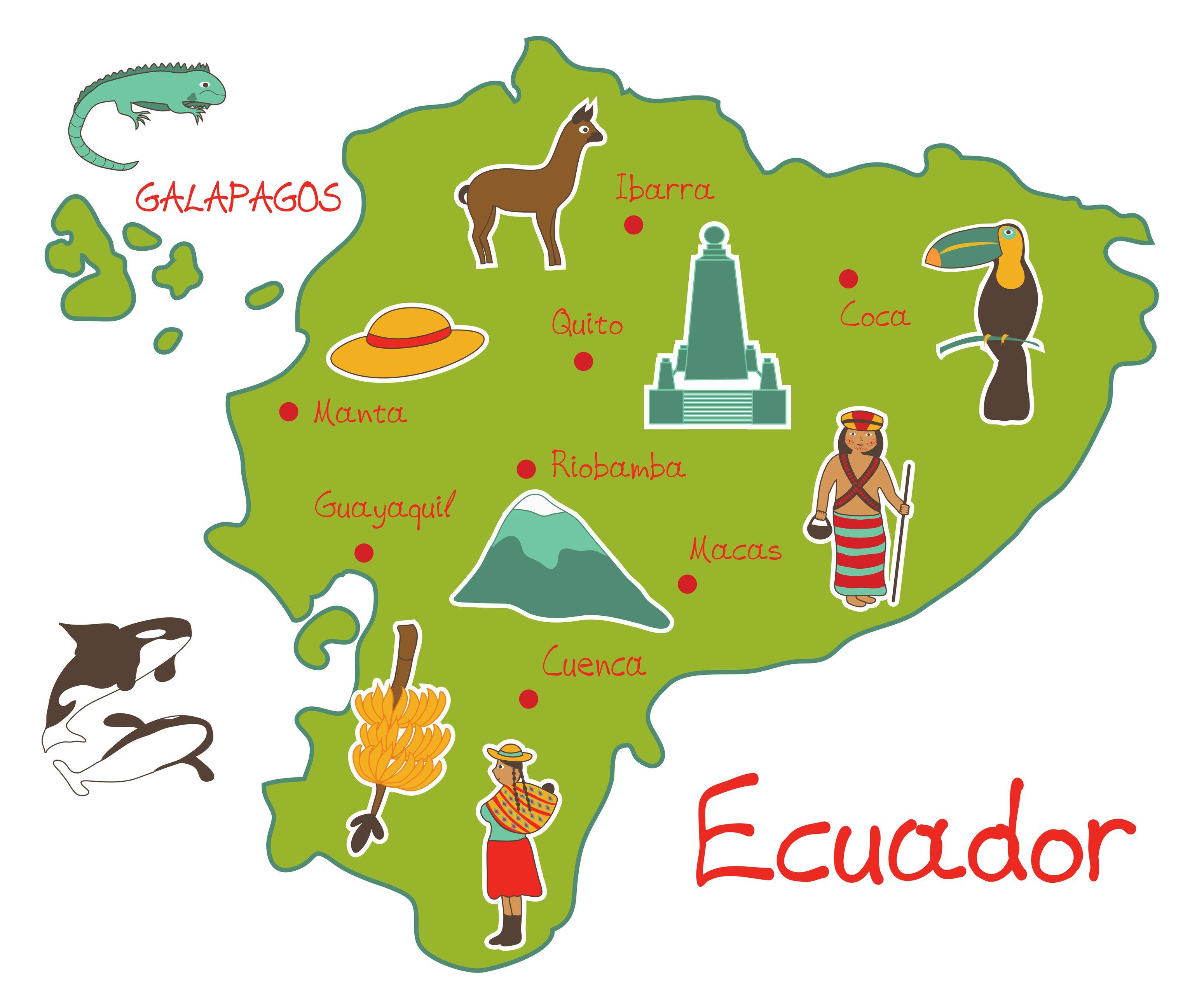 Imagenes De Comidas Tipicas Del Ecuador Para Colorear