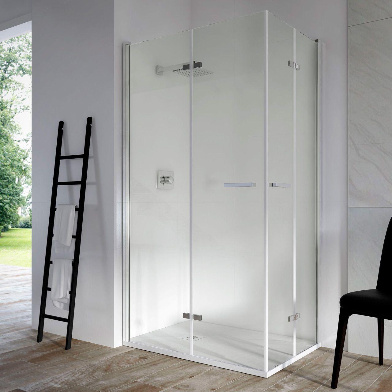 Mampara de ducha plegable modelo Aqua: 2 puertas plegables. #mampara ...