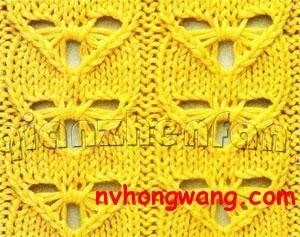 unusual knitting stitch pattern | Knitting stiches, Knit ...