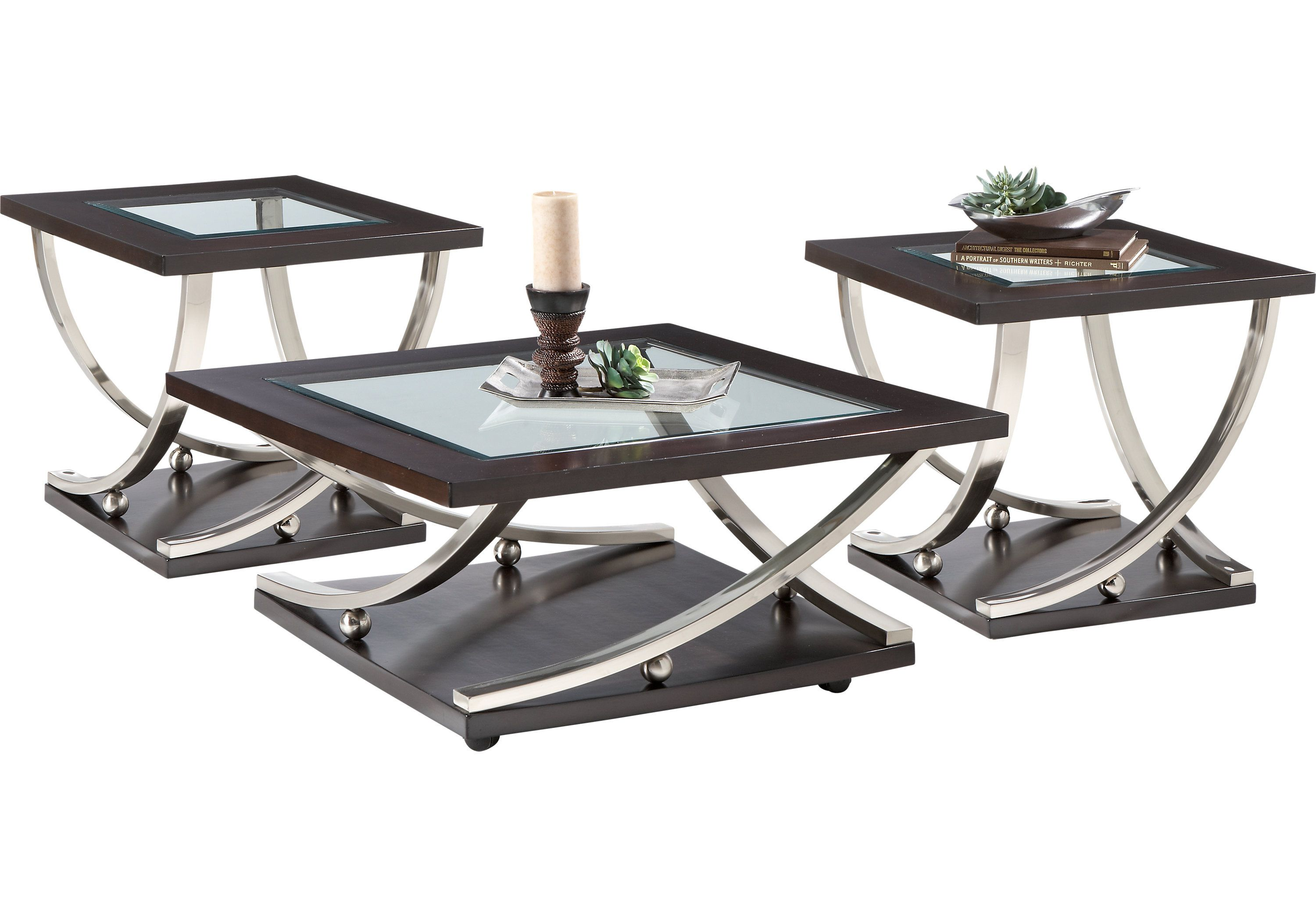 Best Menlo Park 3 Pc Table Set Table Sets Living Room Table 400 x 300